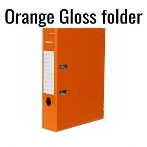 2-Ring  Orange Gloss Folder